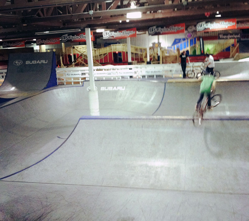 Beautiful Demise visits Ray's indoor bike park - Milwaukee